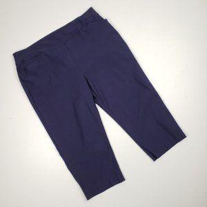 Penningtons Navy Capri Pants Size 18